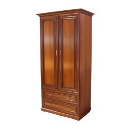 Шкаф двух секционный Рим-1