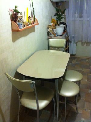 Стол со стеклом Портофино Мини